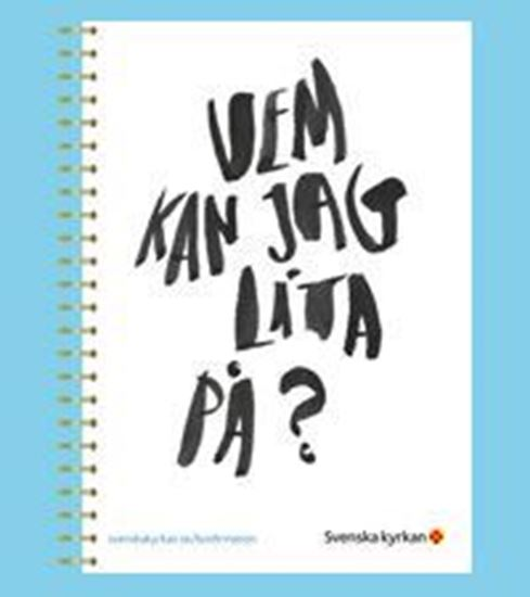 Bild på Anteckningsbok i formatet A5 till Krafttag konfirmation