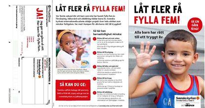 Picture of Kampanjfolder, A5 med inbetalningskort (julkampanjen 2016)