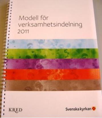 Bild på Verksamhetsindelning 2011, Modell för verksamhetsindelning