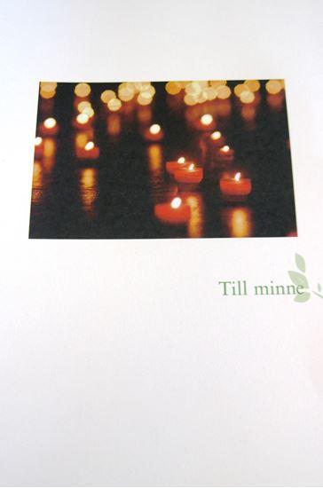 Bild på Minnesblad, ljus. Svenska kyrkan i utlandet
