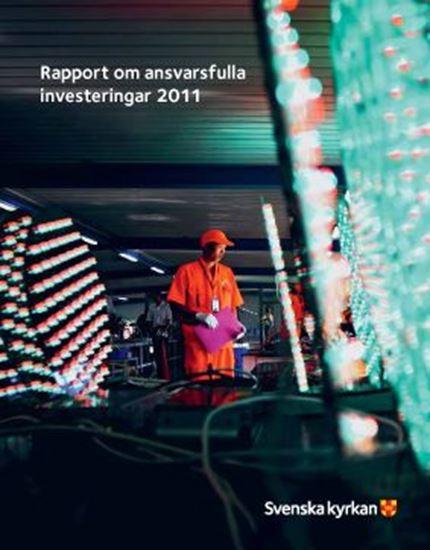 Bild på Årsrapport Ansvarsfulla placeringar 2011
