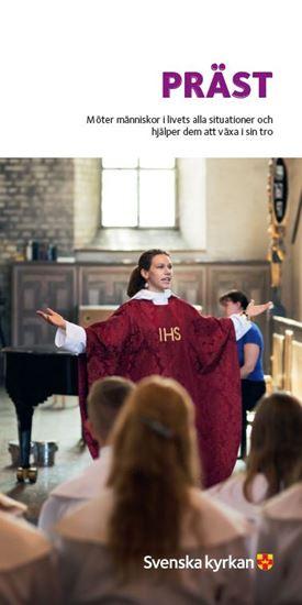 Bild på Präst (folder om utbildningen)