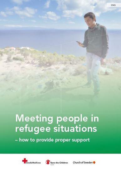 Bild på Meeting people in refugee situations - how to provide proper support, engelska