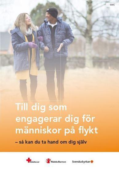 Bild på Till dig som engagerar dig för människor på flykt - så kan du ta hand om dig själv. Svensk