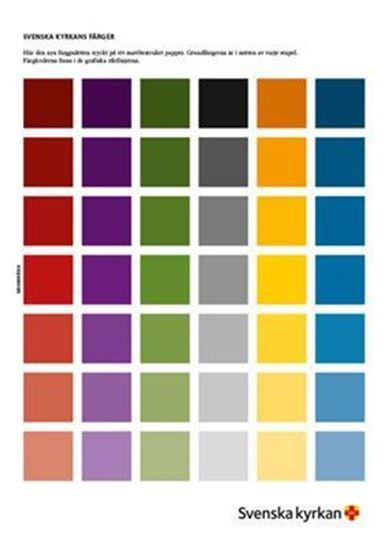 Bild på Profilfärgs ark