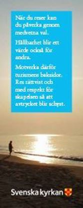Bild på Bokmärke - Vem du än är - Person vid strand