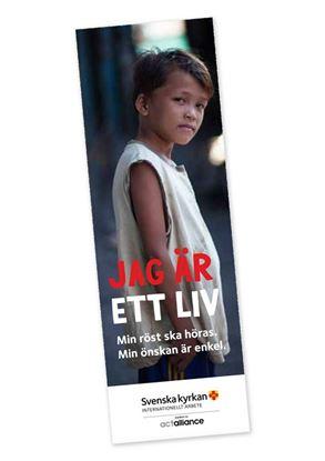 Bild på Bokmärke/insamlingskort - julkampanjen 2017