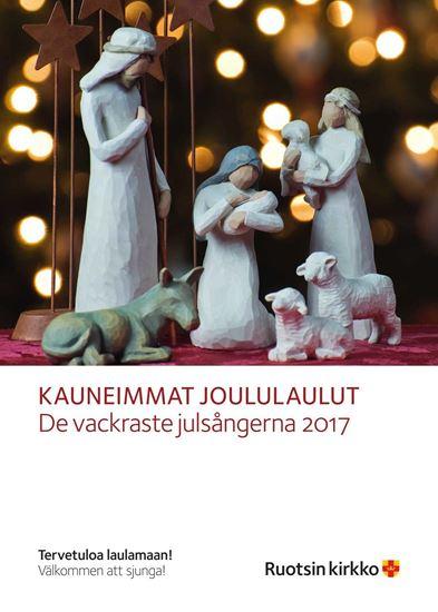 Bild på De vackraste julsångerna, affisch A4, FINSKA