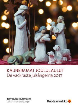 Bild på De vackraste julsångerna, affisch A3, FINSKA