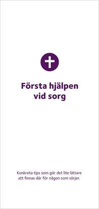 Bild på Folder. Första hjälpen vid sorg . 10-pack.