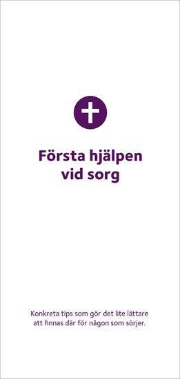 Bild på Folder. Första hjälpen vid sorg . 10-pack