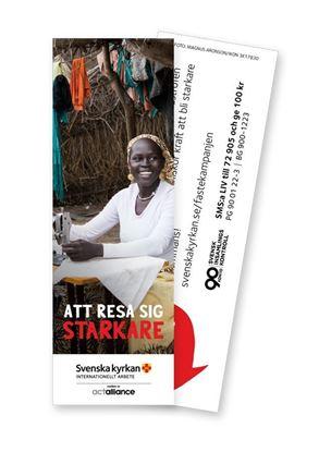Bild på Bokmärke/insamlingskort