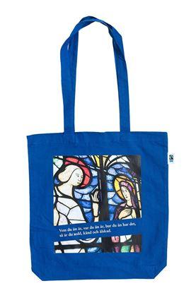Bild på Tygkasse utlandskyrkan – blå