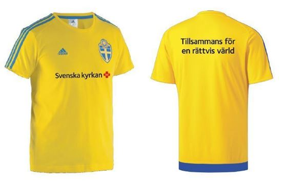 Bild på Fotbolls t-shirt, stl L