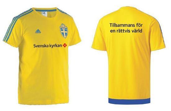 Bild på Fotbolls t-shirt, stl XL