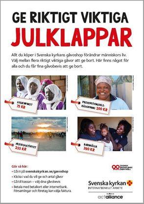 Bild på Affisch A3 för gåvoshop