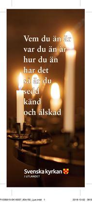 Bild på Bokmärke - Vem du än är - Ljusbärare