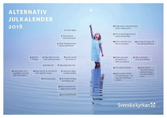Bild på Alternativ julkalender från Umeå, A4