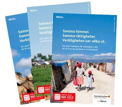 Bild på Kampanjaffisch A4,  3-pack med olika motiv