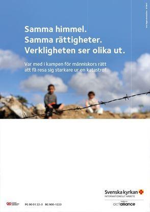 Bild på Aktivitetsaffisch A3 med plats för egen text
