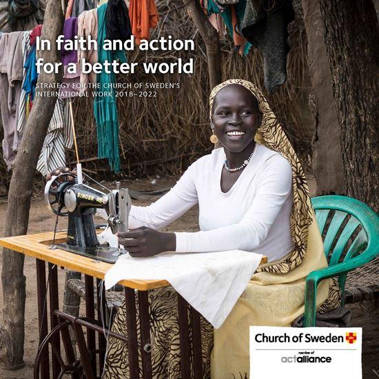 Bild på Engelsk kortversion av strategiska planen för Svenska kyrkans internationella arbete