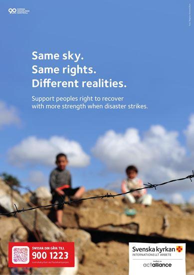 Bild på Kampanjaffisch x 3, Fastan A3 Engelska