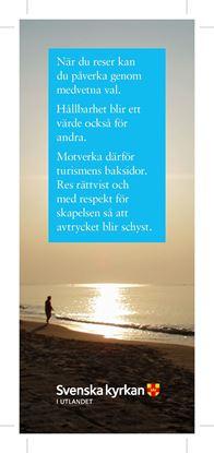 Bild på Bokmärke - Vem du än är - Person vid strand.