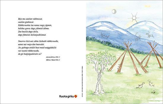Bild på Vihahanduodaštus Vigselbevis nordsamiskt