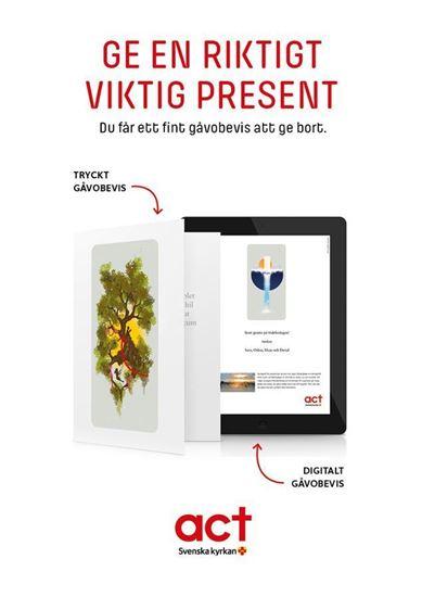 Bild på Gåvoshop, produktblad A5