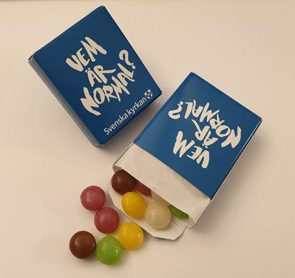 Bild på Tablettask konfirmation. Ny fråga. Vem är normal? OBS! 25-pack!