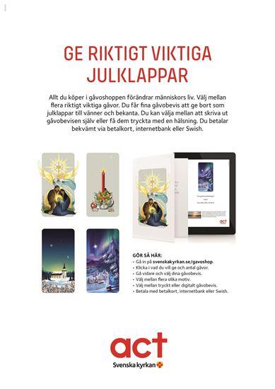 Bild på Gåvoshop affisch A3