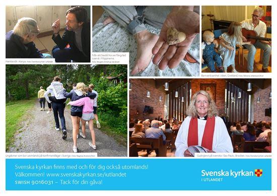 Bild på Vad gör Svenska kyrkan i utlandet - A4 (PDF)