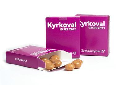Bild på KV21. Tablettask. Gräddkola. OBS! 25-pack.