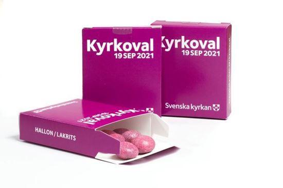 Bild på KV21. Tablettask. Hallon/Lakrits. OBS! 25-pack.