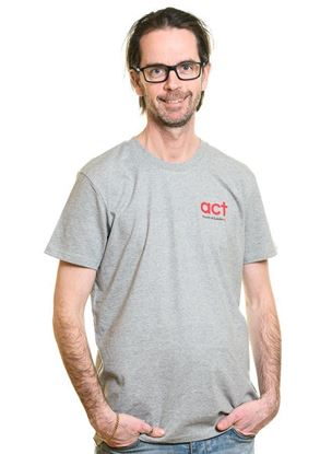 Bild på Kortärmad t-shirt HERR storlek XXL
