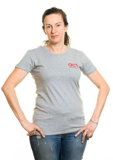Bild på Kortärmad t-shirt DAM storlek L