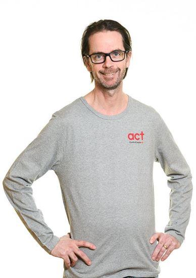 Bild på Långärmad t-shirt HERR Storlek  M