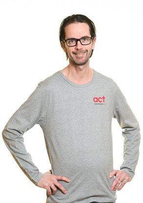 Bild på Långärmad t-shirt  HERR storlek XL