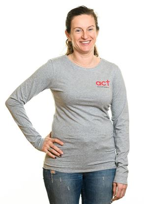 Bild på Långärmad t-shirt  DAM storlek XL