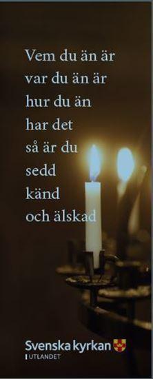 Bild på Bokmärke. Ljusbärare.