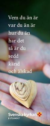 Bild på Bokmärke. Hjärta.