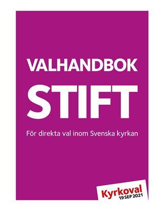Bild på KV21. Valhandbok stift. PDF.