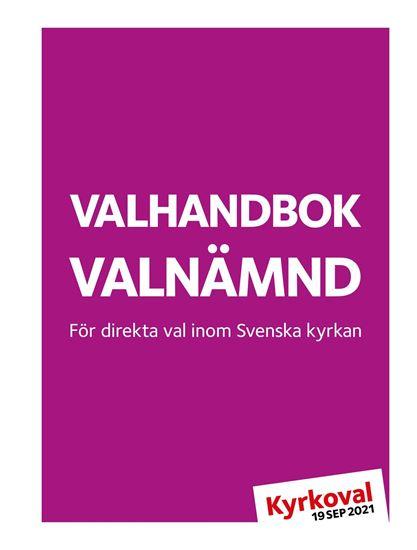 Bild på KV21. Valhandbok valnämnd. PDF + länk mallverktyget.