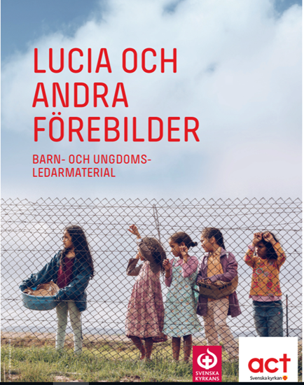 """Bild på Ledarmaterial """"Lucia och andra förebilder""""  (Pdf)"""