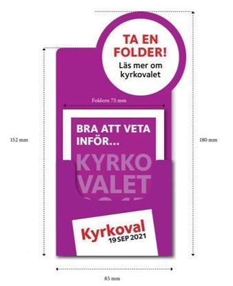 Bild på KV21. Bra att veta. Folderställ.