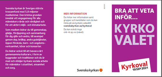 Bild på KV21. Bra att veta. Fickfolder. OBS! 50-pack.