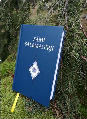 Bild på Nordsamisk psalmbok.