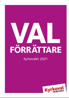 Bild på Valförrättare Kyrkoval 2021