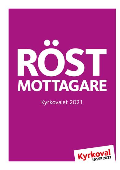 Bild på Röstmottagare Kyrkoval 2021.