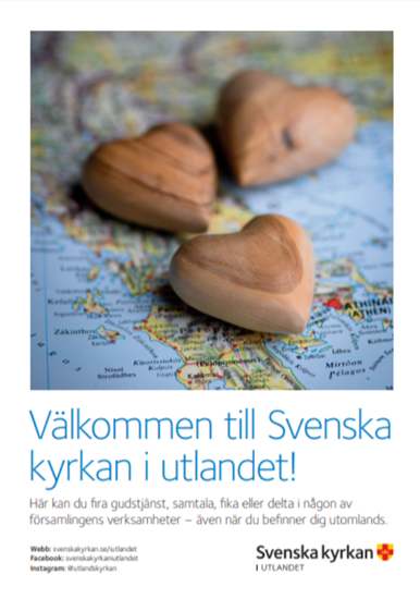 Bild på Välkommen till Svenska kyrkan i utlandet - A4 (pdf)